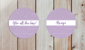 Themed Custom Wedding Coasters